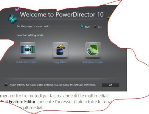 Come utilizzare CyberLink PowerDirector – video editing